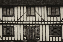English Tudor houses Royalty Free Stock Photo