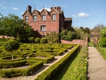 English Tudor Knot Garden stock images