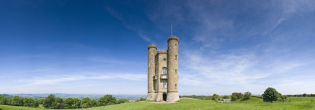 English views, Broadway Tower (1799) Stock Images
