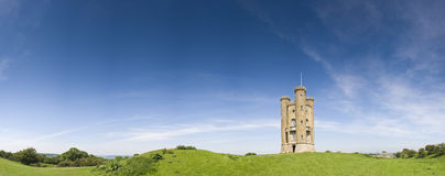 English views, Broadway Tower (1799) Royalty Free Stock Photos