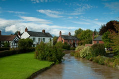 English village Royalty Free Stock Images