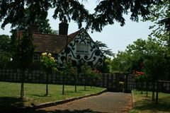 English Village. Houses in an old English village Royalty Free Stock Image