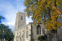 English village church Stock Photo