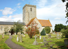 English Village Church Royalty Free Stock Photo