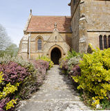 English Village Church Royalty Free Stock Photography