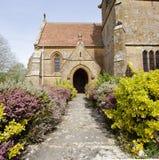 English Village Church Royalty Free Stock Photography