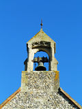 An English Village Church Bell Tower Royalty Free Stock Photos