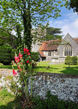 An English Village Church and Tower Royalty Free Stock Photography