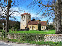 An English Village Church and Tower Royalty Free Stock Photo