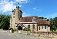 An English Village Church and Tower Stock Images