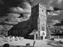 English village church. UK Royalty Free Stock Photos