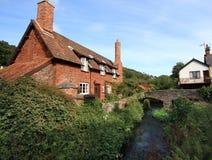 English Village Cottage stock photography