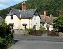 English Village Cottage stock images