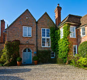 English Village Cottage. Quaint Timber Framed House in a Rural English Village royalty free stock image
