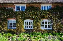 English Village Cottage. Quaint Timber Framed House in a Rural English Village royalty free stock photography
