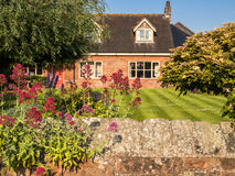 English Village Country Cottage Royalty Free Stock Photo