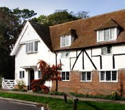 English Village House. Historic House in a Rural English Village Royalty Free Stock Images