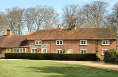 English Village Houses Stock Photography