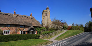 English Village Scene Stock Photography