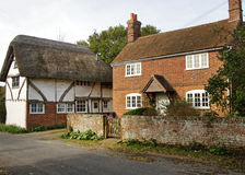 English Village Village Cottages Royalty Free Stock Photos