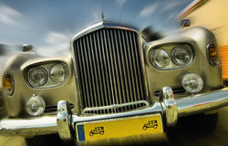 English vintage car Royalty Free Stock Photo