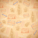 English vintage retro background Royalty Free Stock Photos
