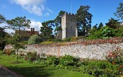 An English Walled Garden Stock Photography