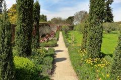 An English Walled Garden Royalty Free Stock Photos