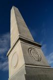 English war monument. Royalty Free Stock Photo