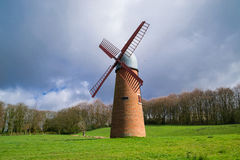 The English windmill. Stock Image