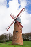 The English windmill. Stock Images