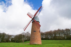 The English windmill. Royalty Free Stock Image