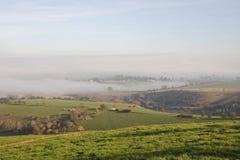English Winter Landscape Stock Photos