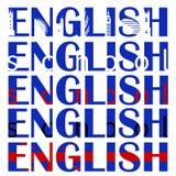 English_word Иллюстрация штока