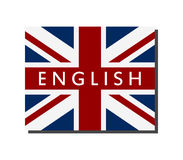 English word illustrated. On white background Royalty Free Stock Photography