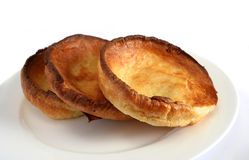 English Yorkshire puddings Stock Photos