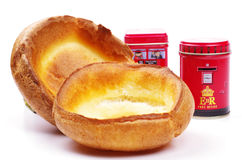 English yorkshire puddings Royalty Free Stock Photos