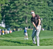 Englishman Ian Poulter. MAMARONECK, , NY - JUNE 13: Englishman Ian Poulter chips onto the green as he plays in the 2006 US Open on June 13, 2006 in Mamaroneck Stock Image