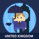 Englishman Vector Illustration Royalty Free Stock Images