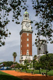 Englishmen Clock Tower Buenos Aires Stock Images