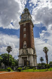 Englishmen Clock Tower Buenos Aires Stock Photos
