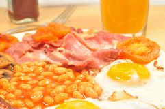 Englsh Breakfast Royalty Free Stock Photos