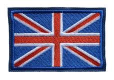 Englsh de la bandera de las insignias de la manga del hombro Fotos de archivo