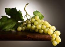 Engodo bicchiere di vino de Uva Imagens de Stock