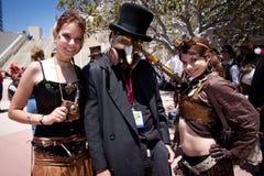 Engodo cómico 2011 de San Diego foto de stock