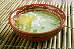 Engodo Huevo de Changua Foto de Stock