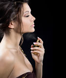 Engojing perfume Stock Photography