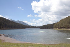 Engolasters Dam Royalty Free Stock Photography