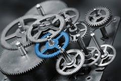 Engranaje azul Imagenes de archivo
