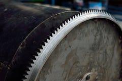 Engranaje de acero Imagen de archivo